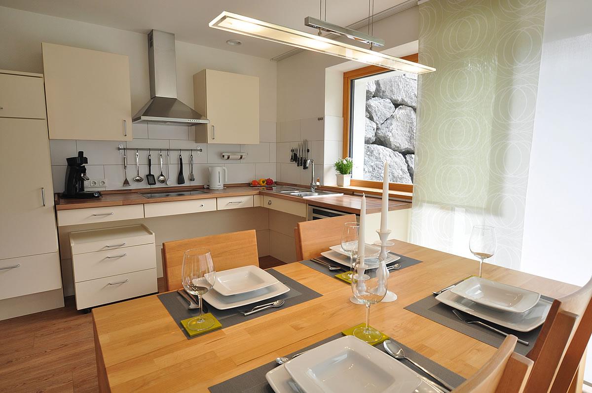 ferienwohnung die herberge. Black Bedroom Furniture Sets. Home Design Ideas